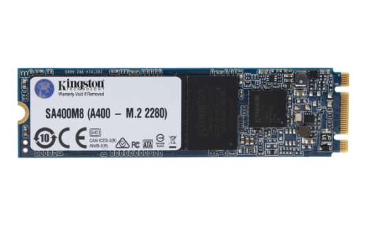 Kingston SSD A400 120GB M.2 (SA400M8/120G) (Fyndvara - Klass 2)