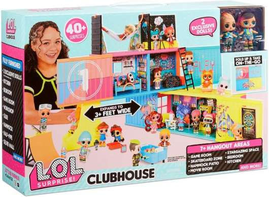 L.O.L. Surprise Container Clubhouse Playset