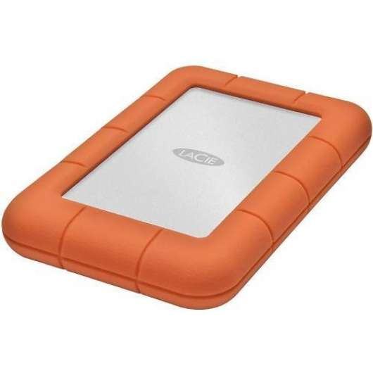 "LaCie Extern Hårddisk Rugged Mini 2.5"" 2TB (USB 3.0) (Fyndvara - Klass 1)"