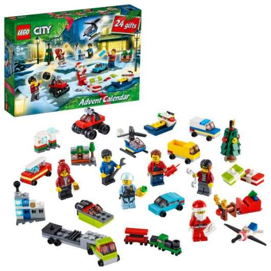 LEGO City Adventskalender 2020 60268