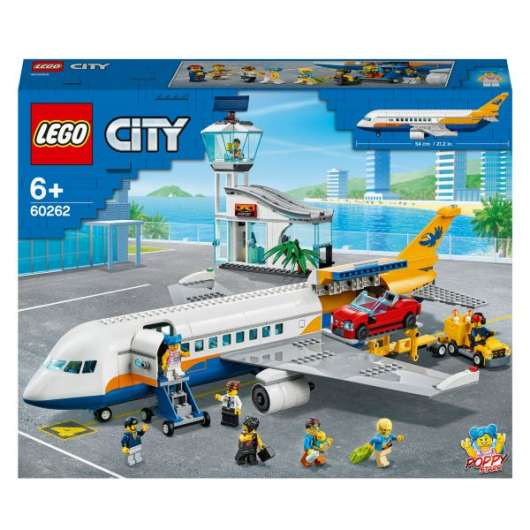 LEGO City Airport Passagerarplan 60262