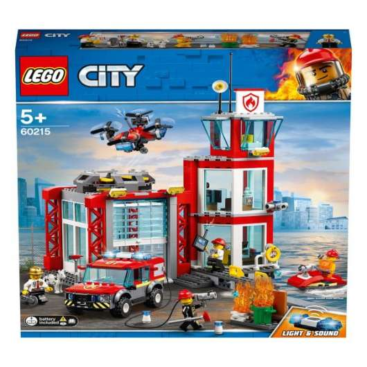 LEGO City Fire Brandstation 60215
