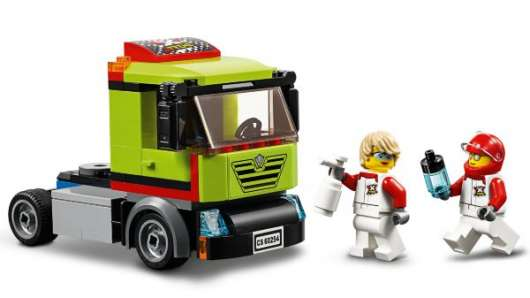 LEGO City Great Vehicles Racerbåtstransport 60254