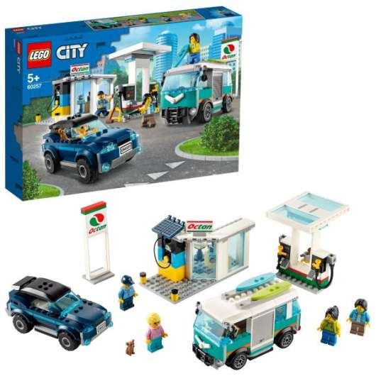 LEGO City Nitro Wheels Bensinstation 60257