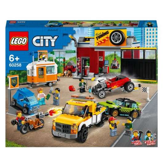 LEGO City Nitro Wheels Bilverkstad 60258