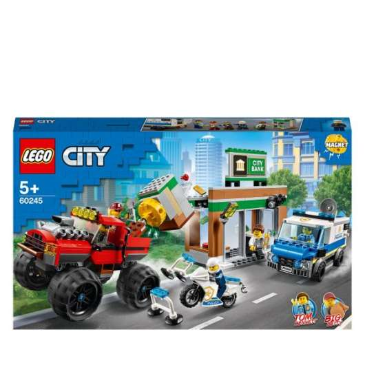 LEGO City Police Monstertruckskupp 60245