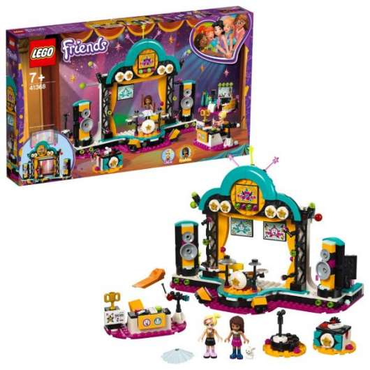 LEGO Friends Andreas talangshow 41368