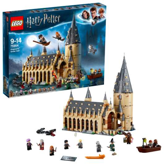 LEGO Harry Potter Stora salen på Hogwarts 75954