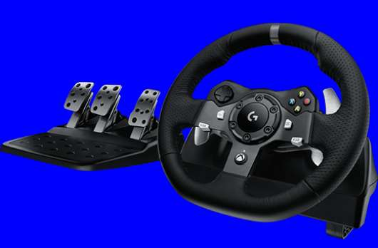Logitech G920 Racing Wheel (PC / Xbox One)