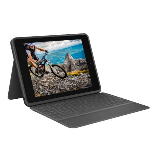 "Logitech iPad 10.2"" 7th gen. Rugged Folio Keyboard (Fyndvara - Klass 1)"