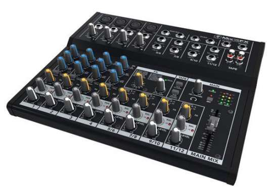 Mackie - 12 Channel Compact Mixer w/ effects