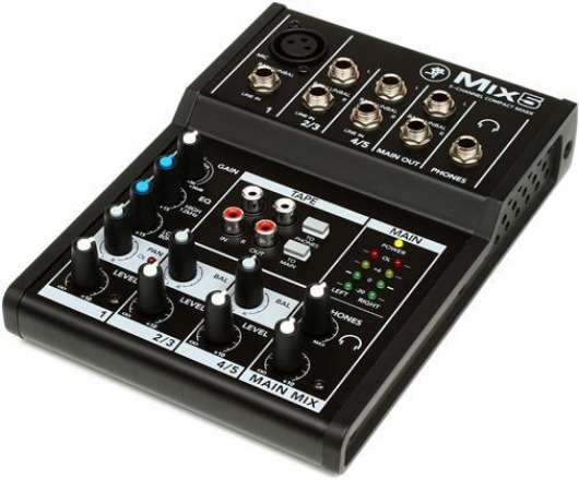 Mackie - 5 Channel Compact Mixer