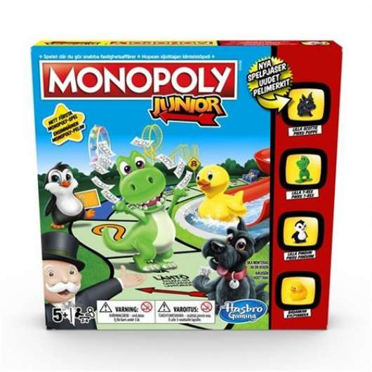 Monopoly Junior New Edition SE/FI