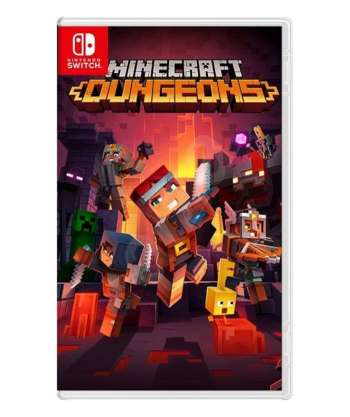 Nintendo Minecraft Dungeons till Switch