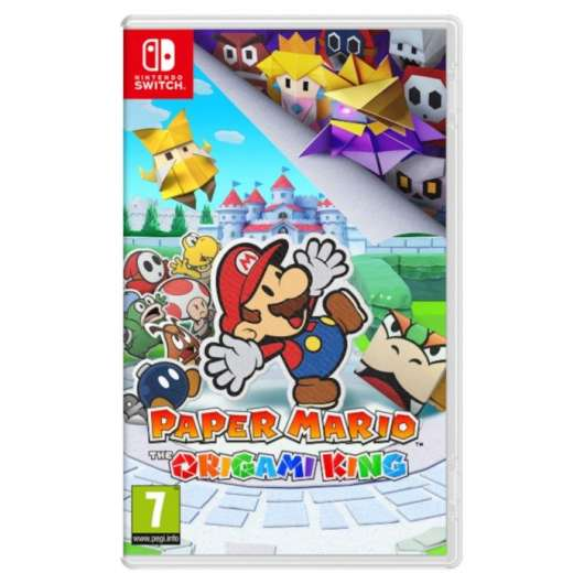 Nintendo Paper Mario: The Origami King till Switch