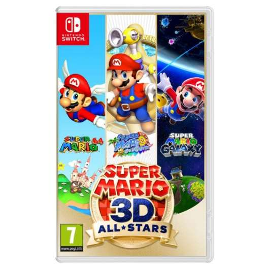 Nintendo Super Mario 3D All-Stars till Switch