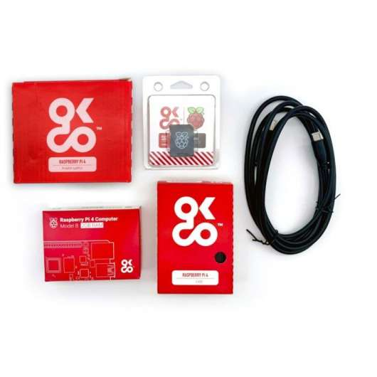 OKdo Raspberry Pi 4, 2 GB Kit