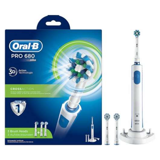 Oral-B Pro 680 Cross Action Eltandborste