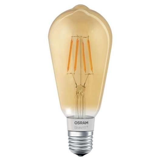 Osram Smart+ Retro Edison Smart LED-filamentlampa E27 600 lm