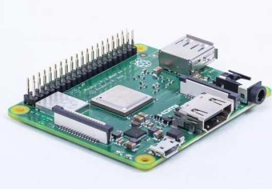 Raspberry Pi 3 enkortsdator (Model A+)