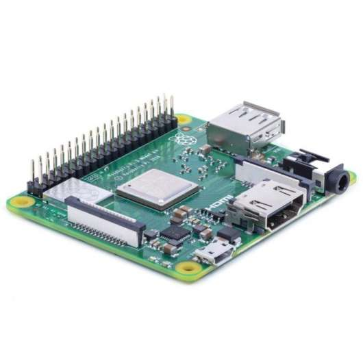 Raspberry Pi 3 Model A+ Enkortsdator