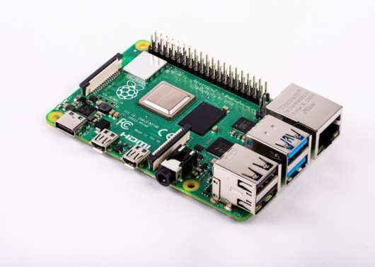Raspberry Pi 4 Model B enkortsdator - 2GB