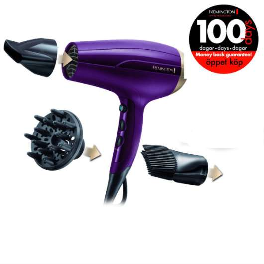 Remington Hårfön D5219 Your Style Dryer Kit