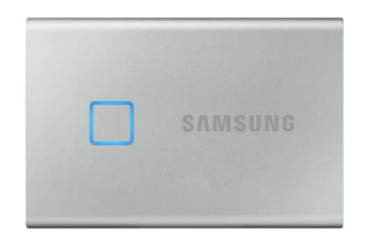 Samsung Portable SSD T7 Touch 1TB (USB 3.2) - Silver