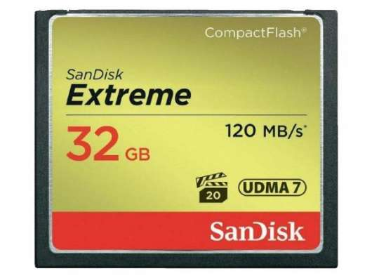 SanDisk Extreme CF - 32GB / 120MB/s