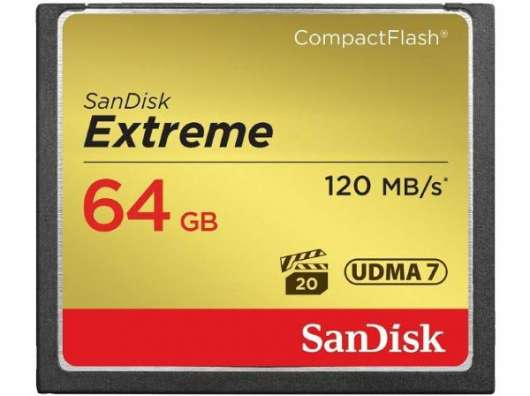 SanDisk Extreme CF - 64GB / 120MB/s