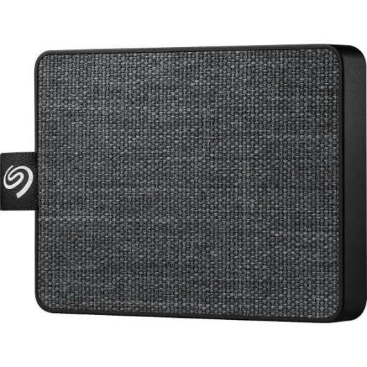 Seagate One Touch SSD 500GB - Svart (Fyndvara - Klass 1)