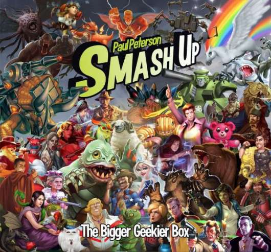 Smash Up: Bigger Geekier Box