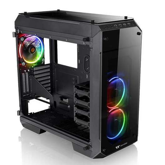 Thermaltake View 71 / RGB / Tempered Glass - Svart
