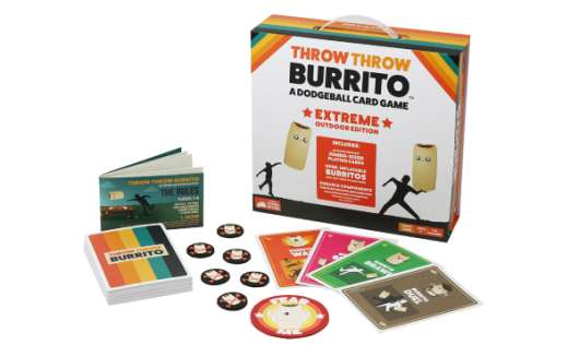 Throw Throw Burrito A Dodgeball Card Game Extreme Outdoor Edition