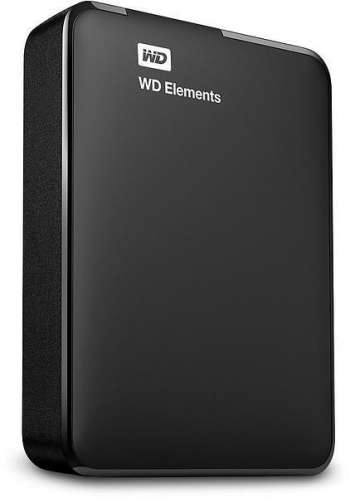 WD Extern Hårddisk Elements Portable 4TB (Fyndvara - Refurb)